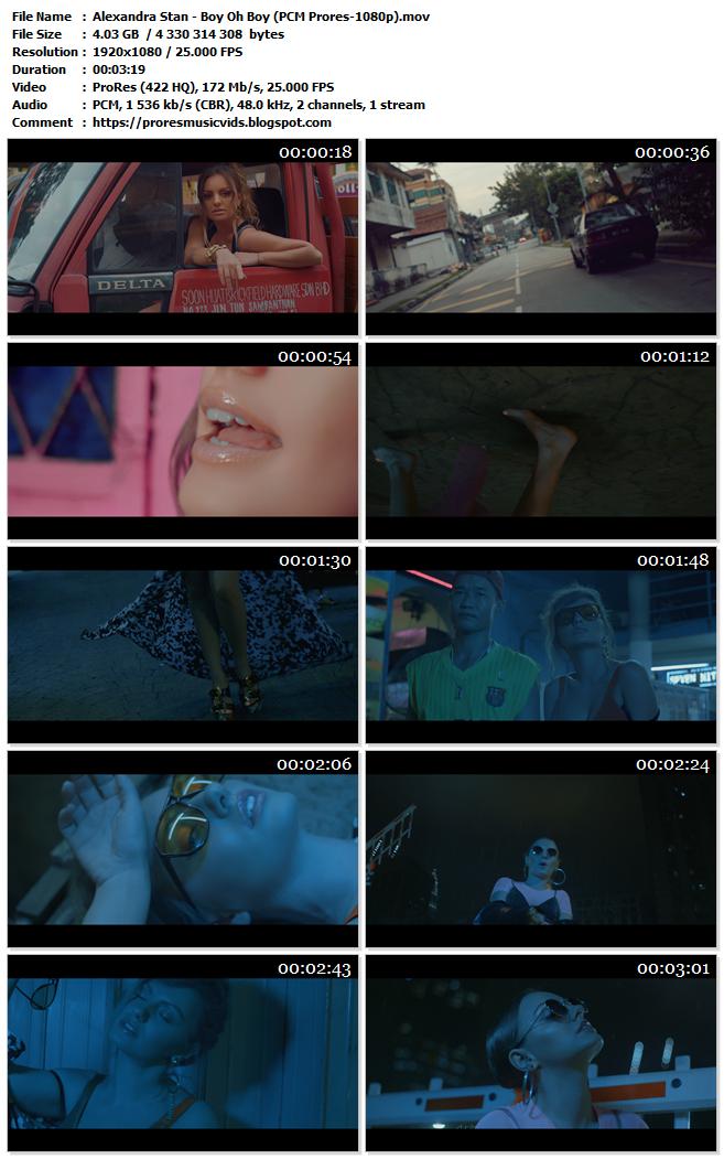 Alexandra Stan – Boy Oh Boy