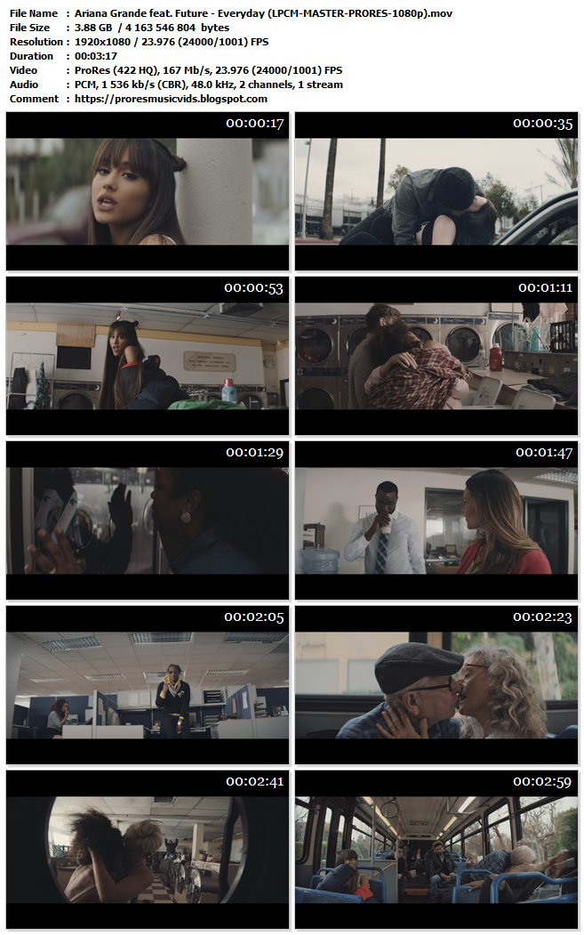 Ariana Grande feat. Future – Everyday