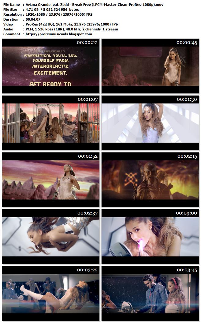 Ariana Grande feat. Zedd – Break Free