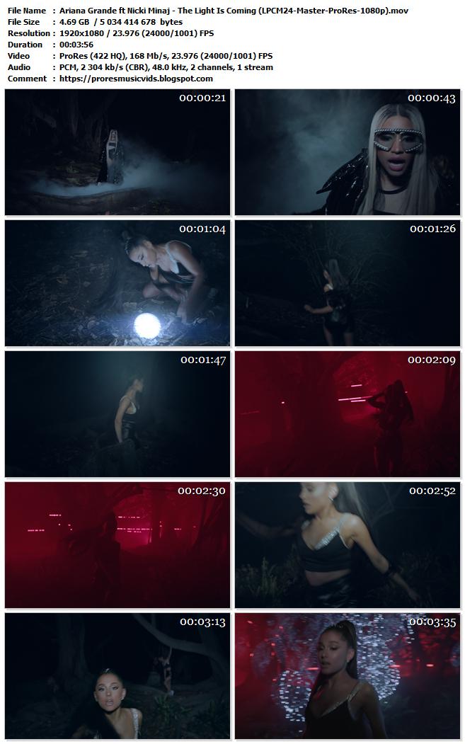 Ariana Grande ft Nicki Minaj – The Light Is Coming
