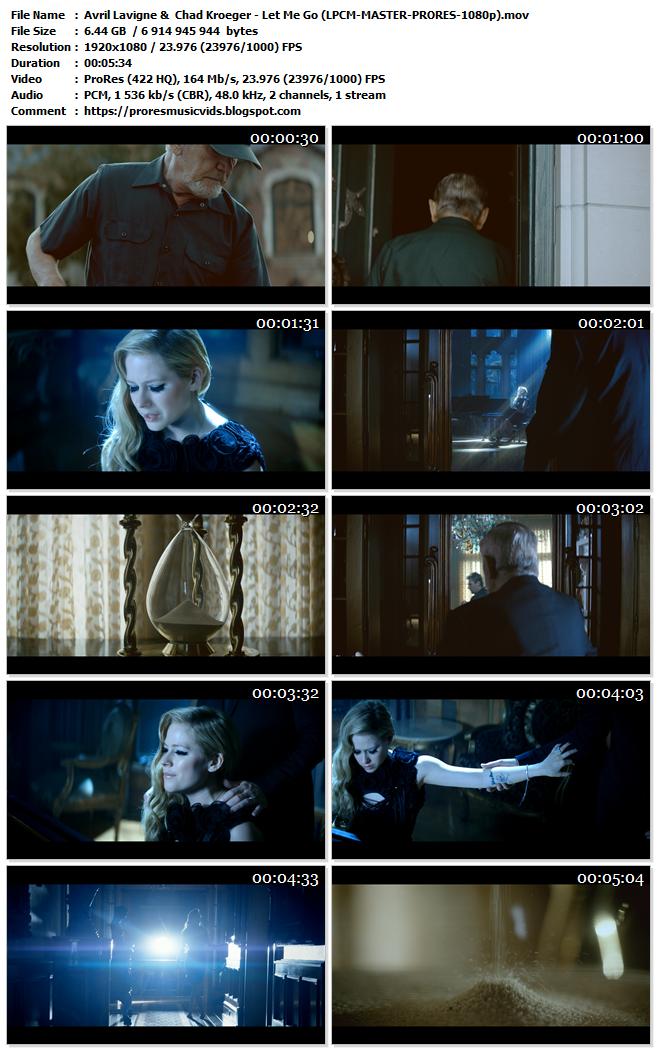 Avril Lavigne &  Chad Kroeger – Let Me Go