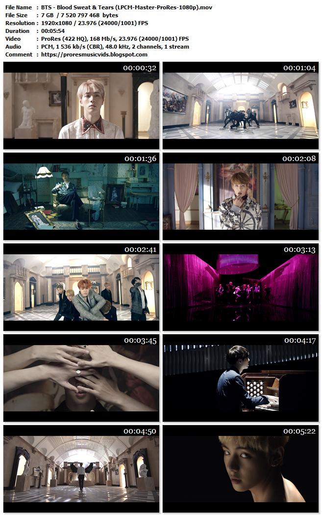 BTS – Blood Sweat & Tears