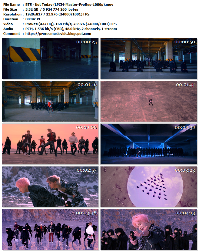 BTS – Not Today