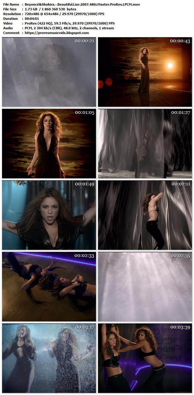 Beyoncé & Shakira – Beautiful Liar