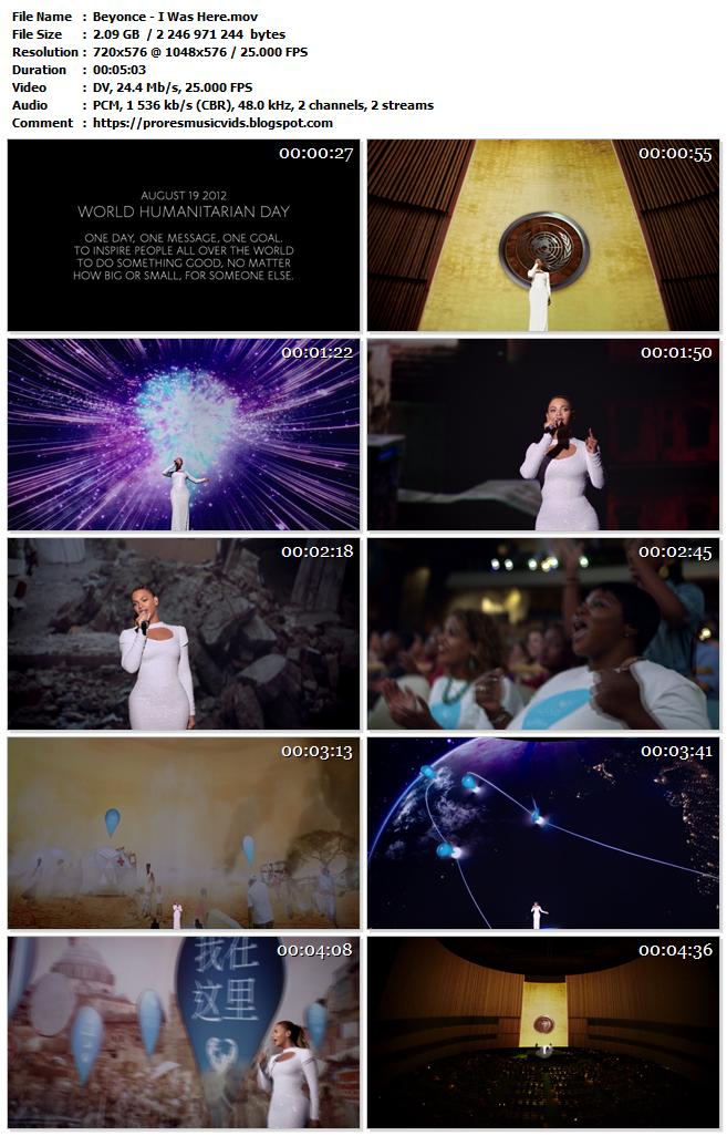 Beyoncé – I Was Here