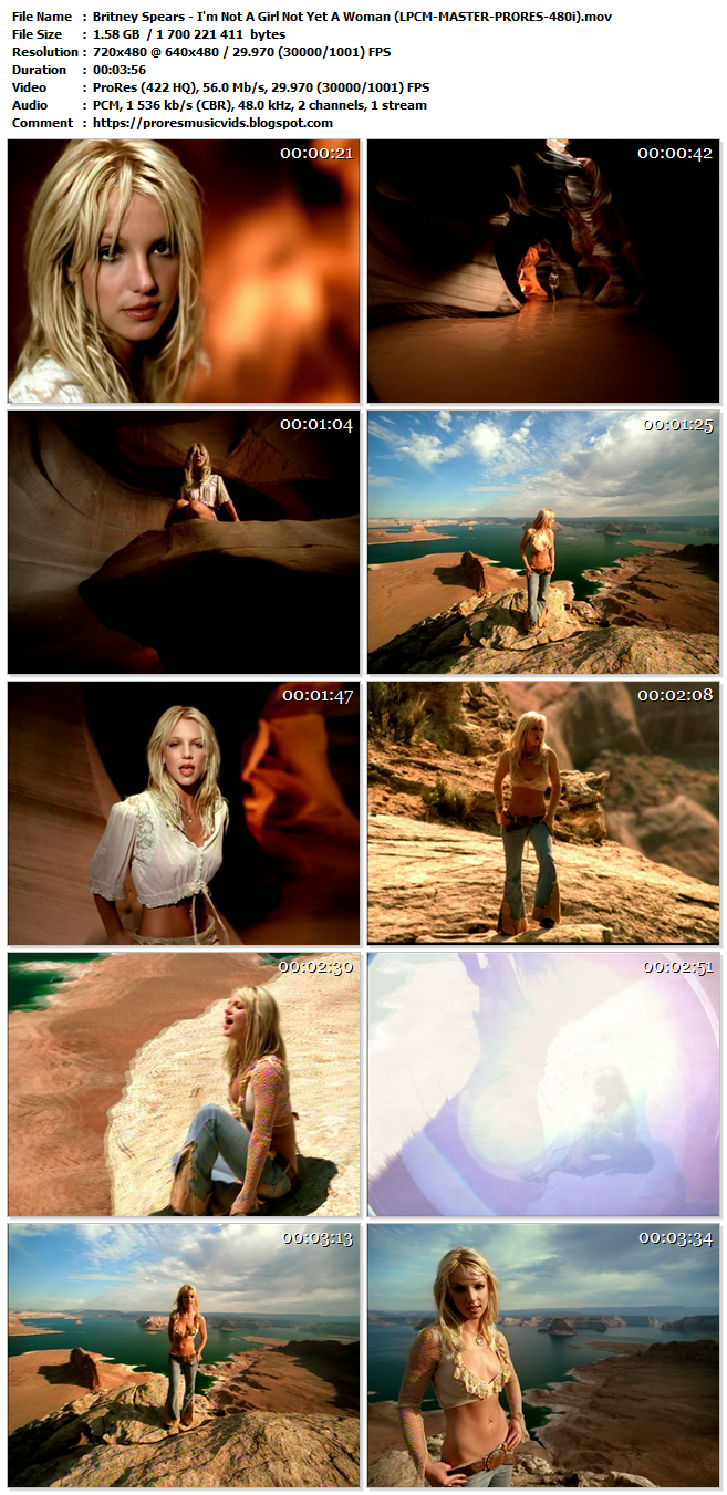 Britney Spears – I'm Not A Girl Not Yet A Woman