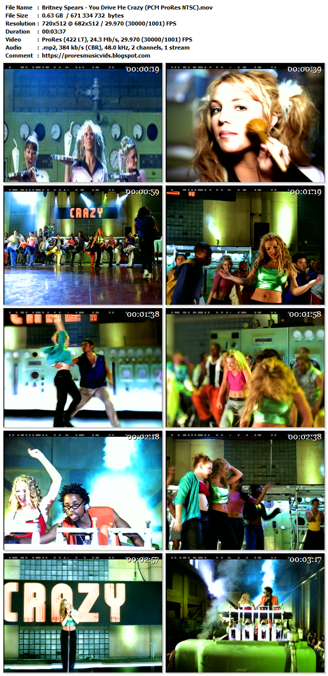 Britney Spears – You Drive Me Crazy