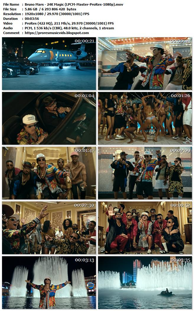 Bruno Mars – 24K