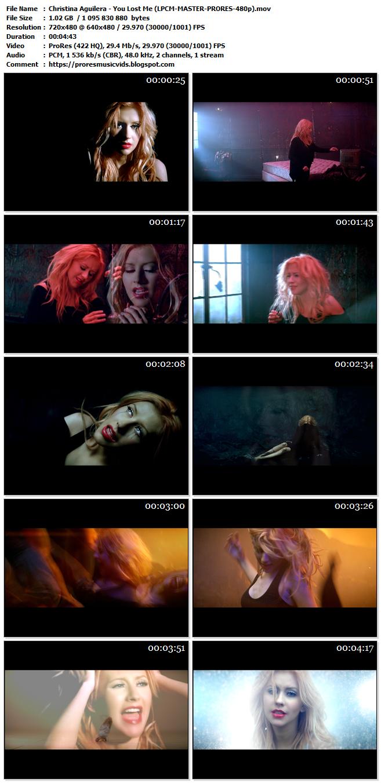 Christina Aguilera – You Lost Me