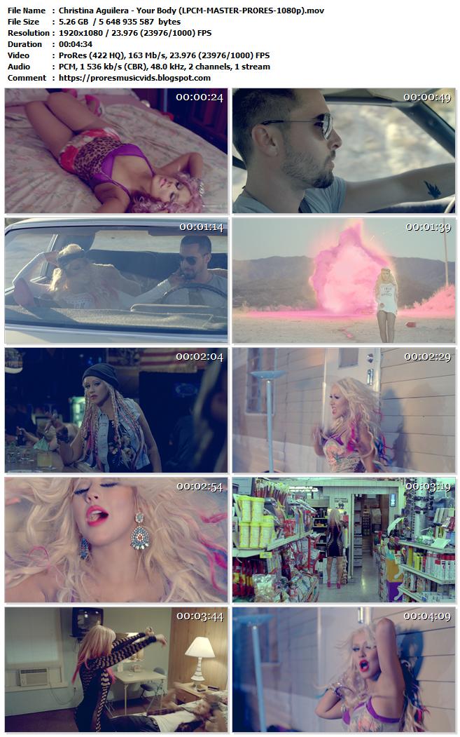 Christina Aguilera – Your Body