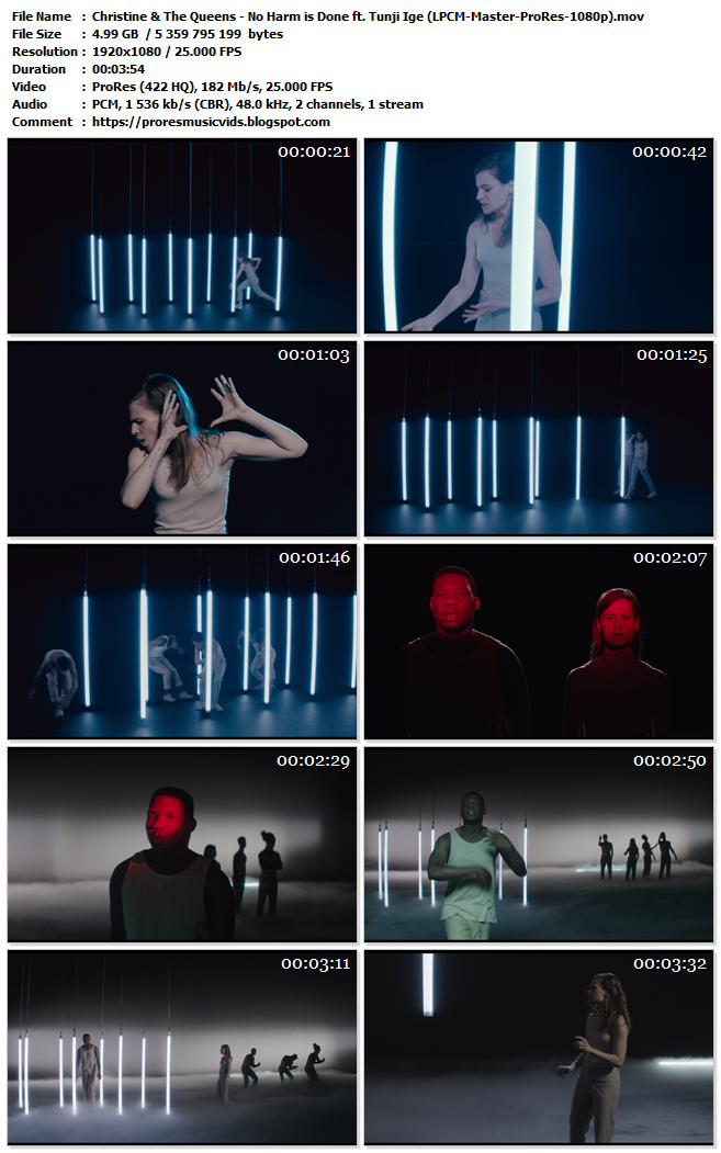 Christine & The Queens – No Harm is Done ft. Tunji Ige