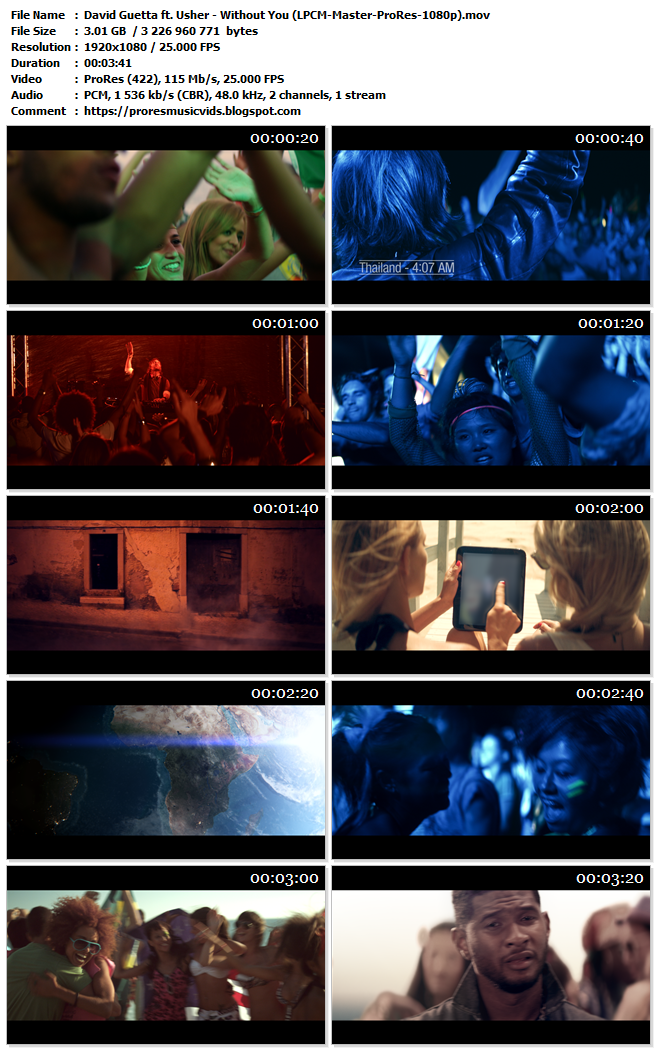 David Guetta ft. Usher – Without You