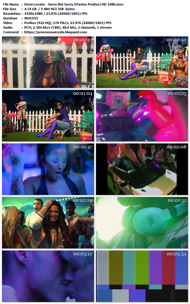 Demi Lovato – Sorry Not Sorry