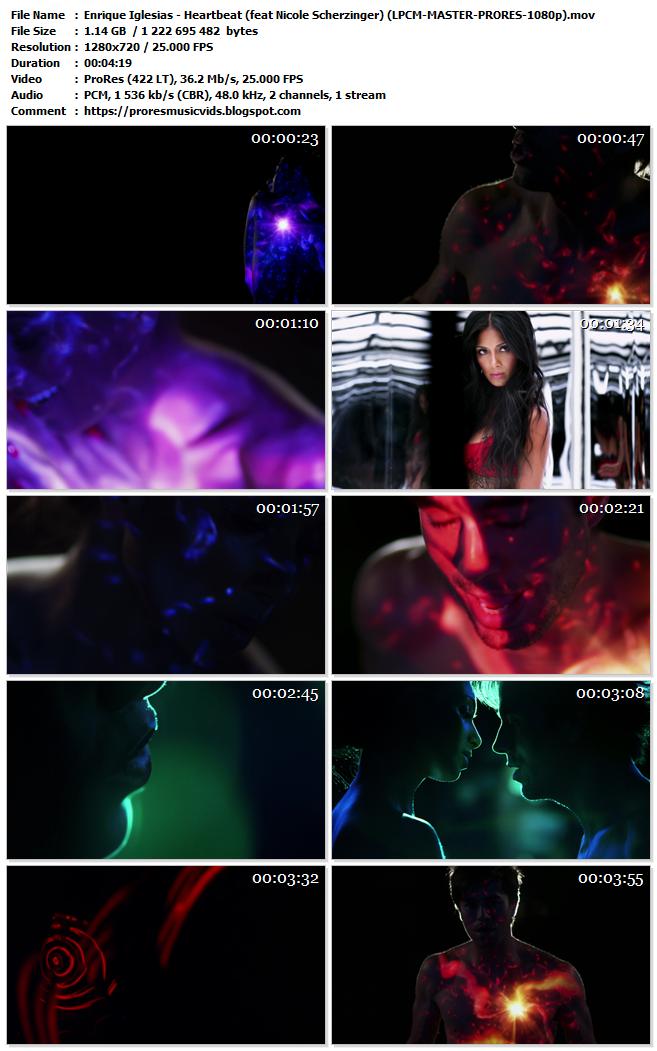 Enrique Iglesias – Heartbeat (feat Nicole Scherzinger)