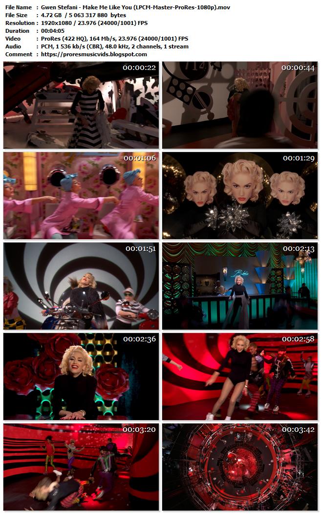 Gwen Stefani – Make Me Like You