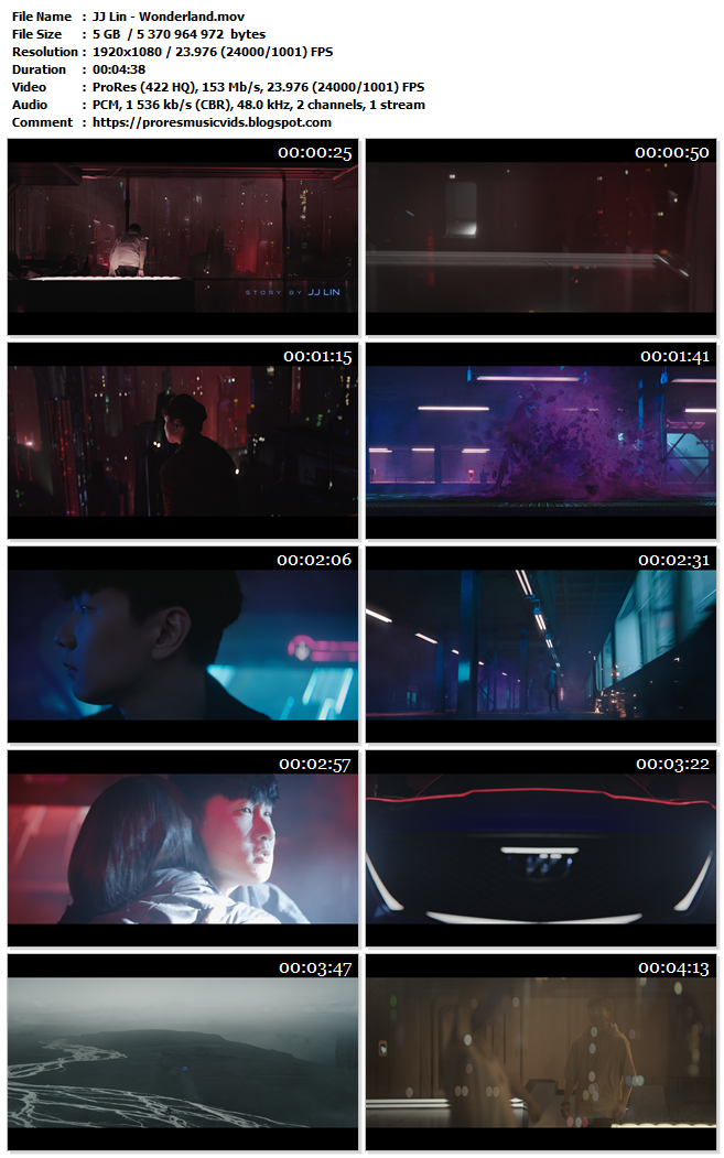 JJ Lin – Wonderland