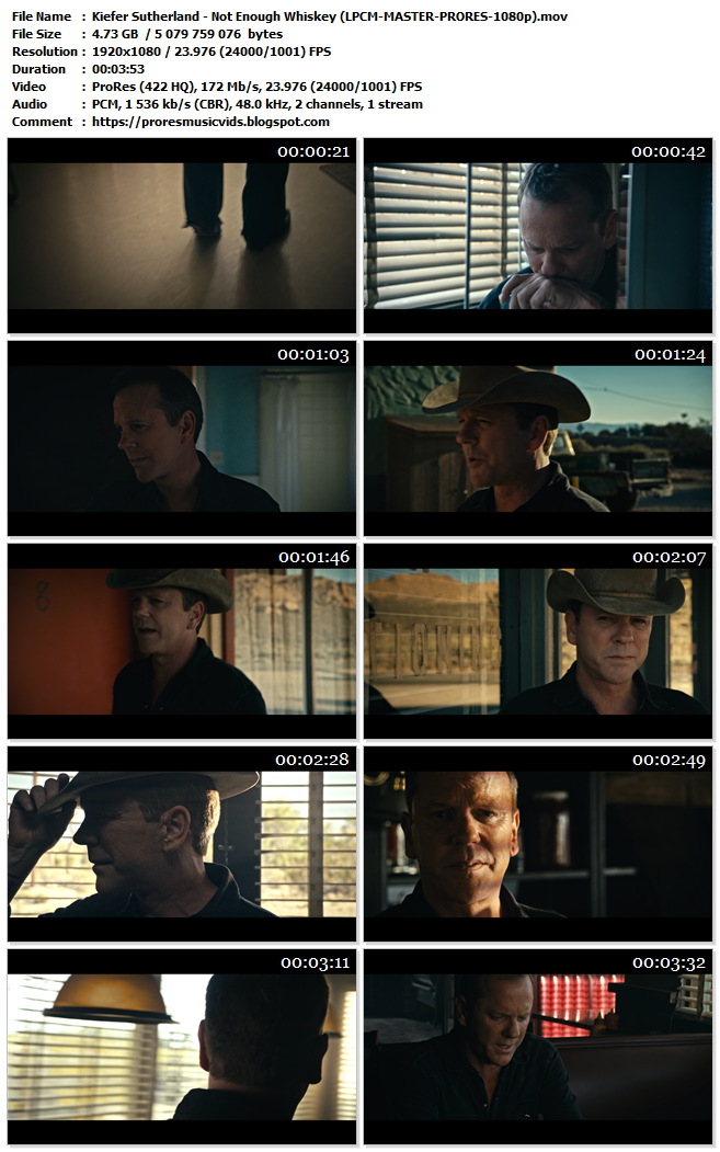 Kiefer Sutherland – Not Enough Whiskey