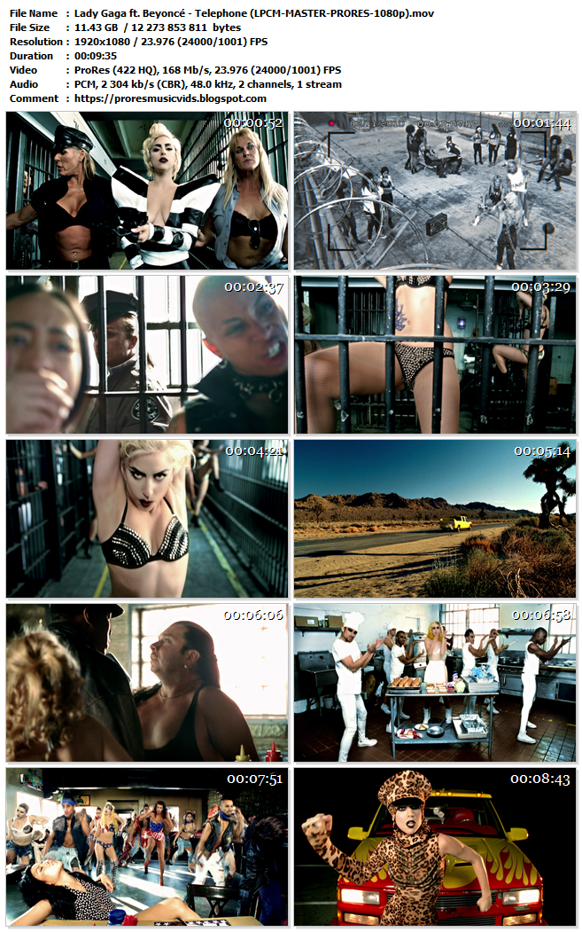 Lady Gaga ft. Beyoncé – Telephone