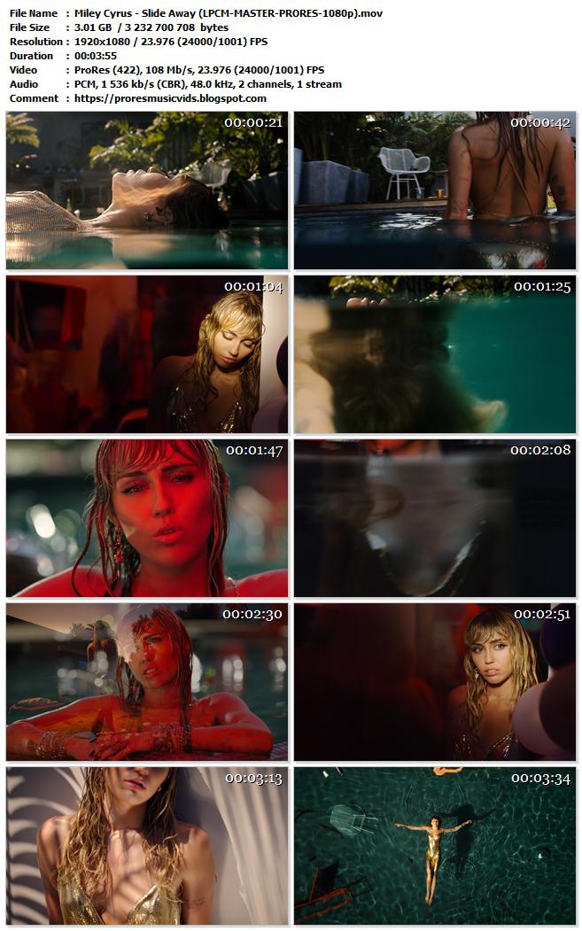Miley Cyrus – Slide Away