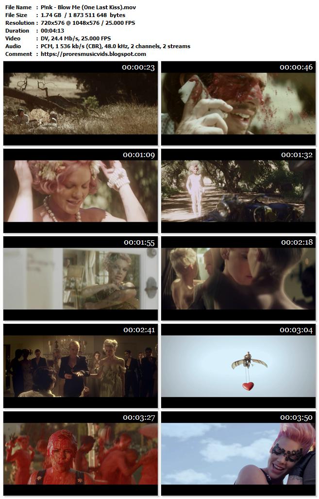 P!nk – Blow Me (One Last Kiss) (DV Master)