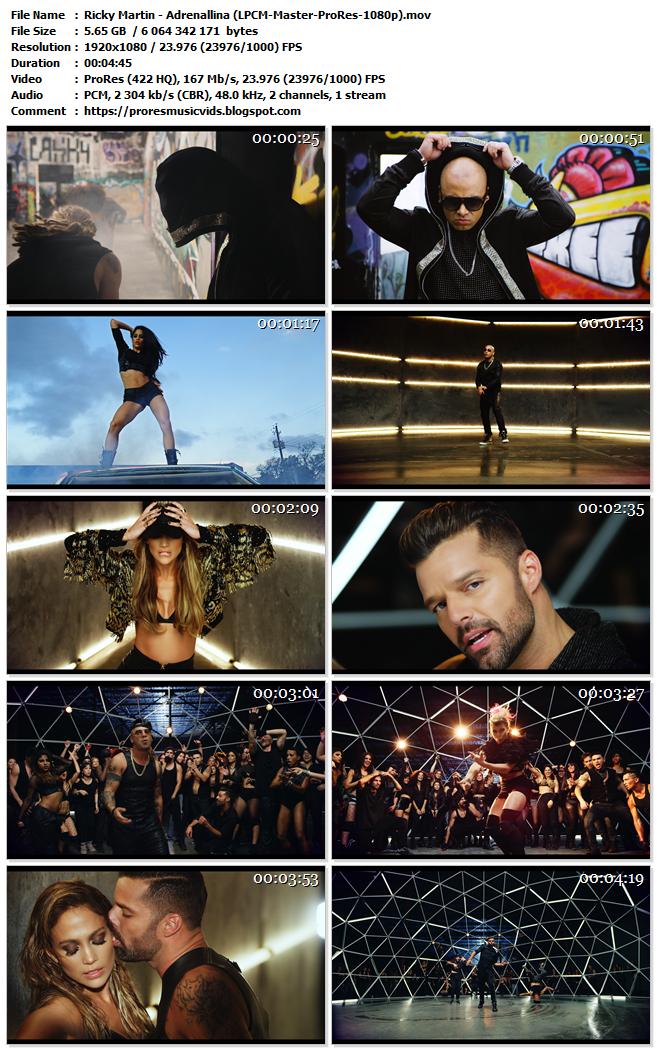 Ricky Martin – Adrenallina