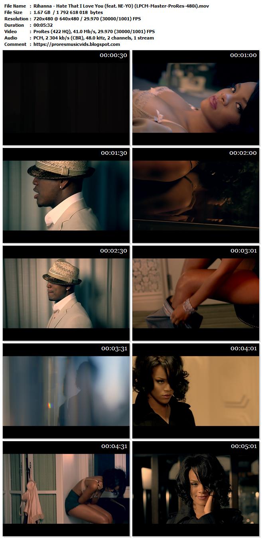Rihanna – Hate That I Love You (feat. NE-YO)