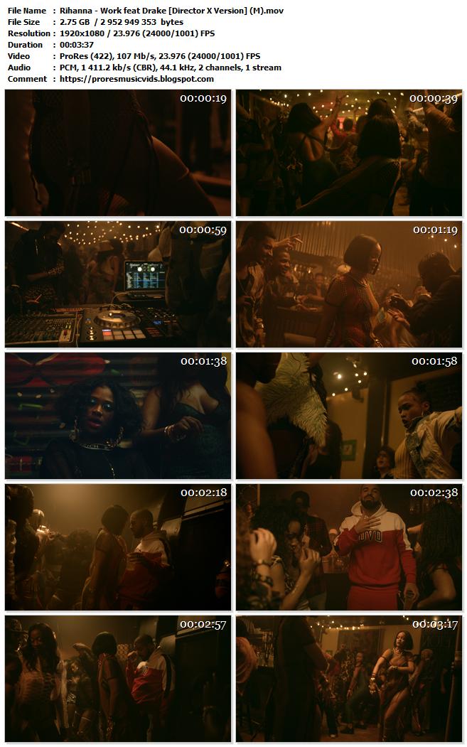 Rihanna – Work feat Drake [Director X Version]