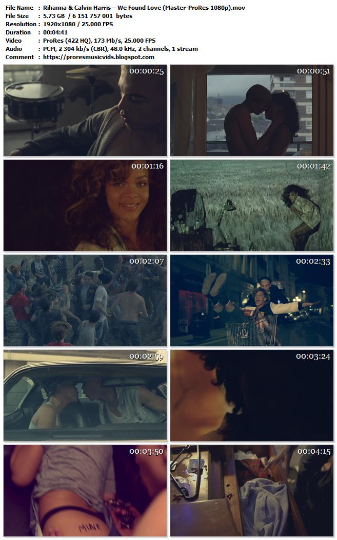 Rihanna & Calvin Harris – We Found Love