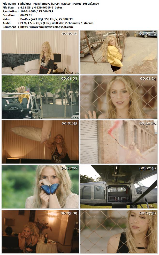 Shakira – Me Enamore