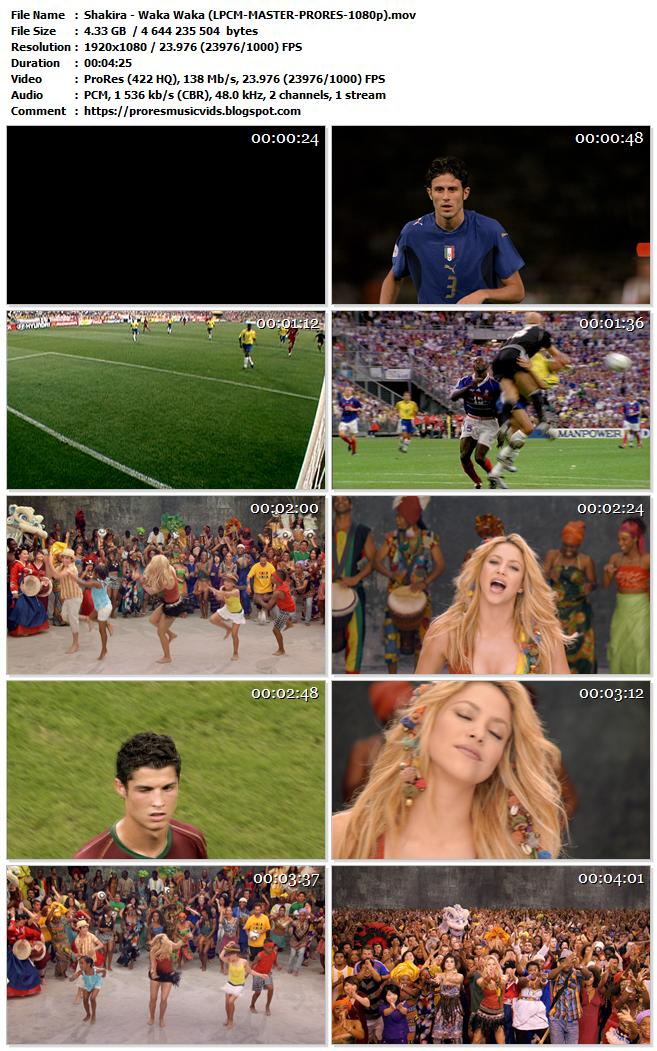 Shakira – Waka Waka