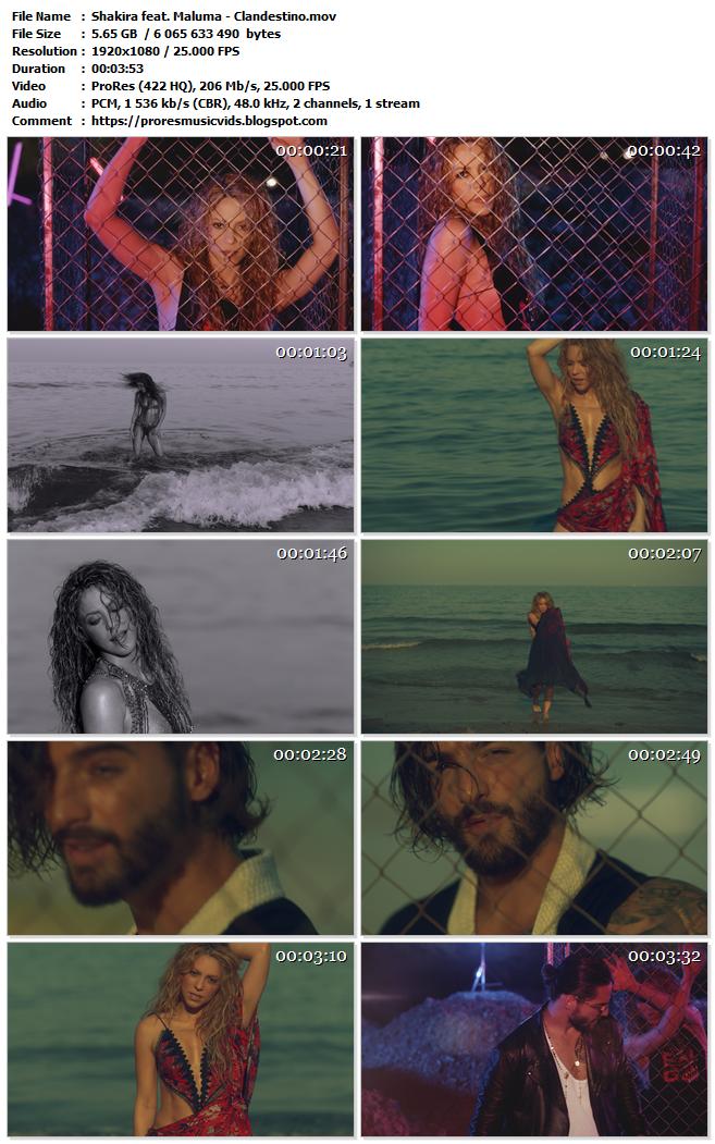 Shakira feat. Maluma – Clandestino