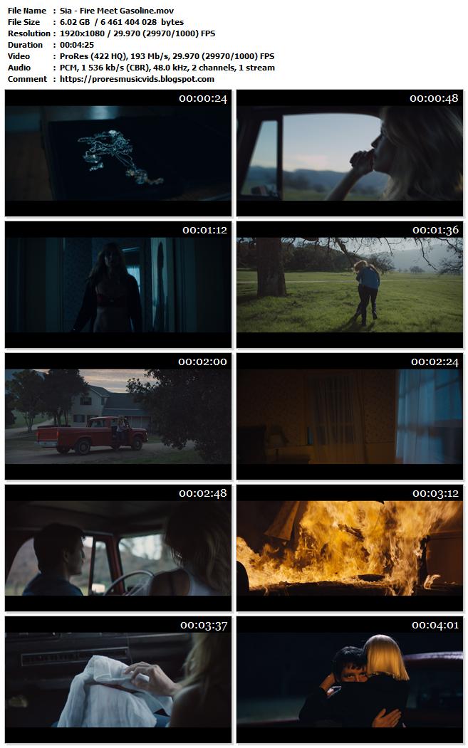 Sia – Fire Meet Gasoline