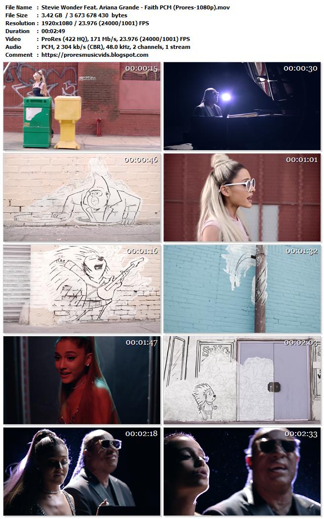 Stevie Wonder Feat. Ariana Grande – Faith