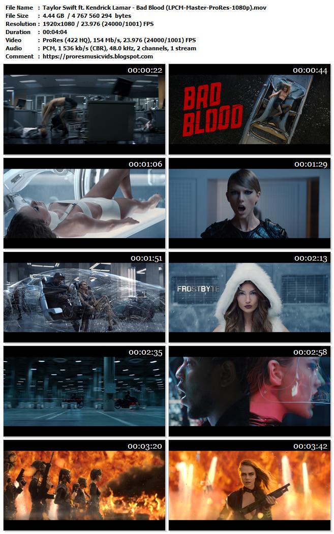 Taylor Swift ft. Kendrick Lamar – Bad Blood