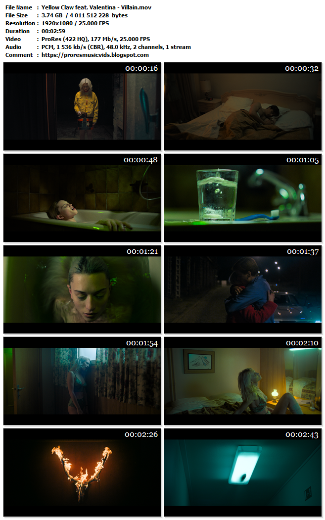 Yellow Claw feat. Valentina – Villain