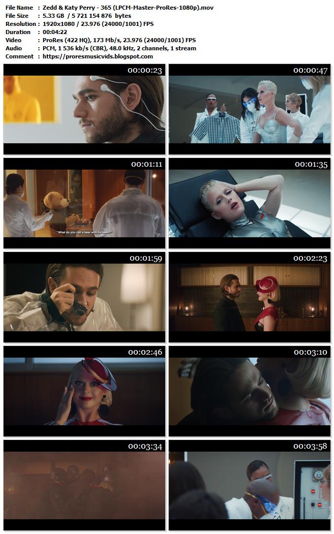 Zedd & Katy Perry – 365