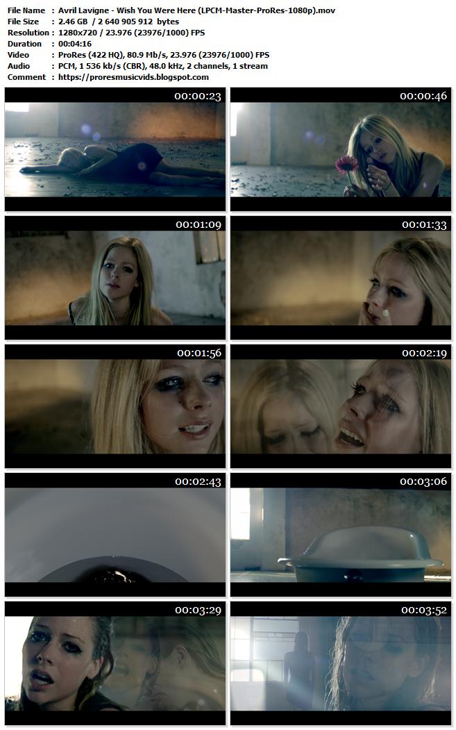 Avril Lavigne – Wish You Were Here
