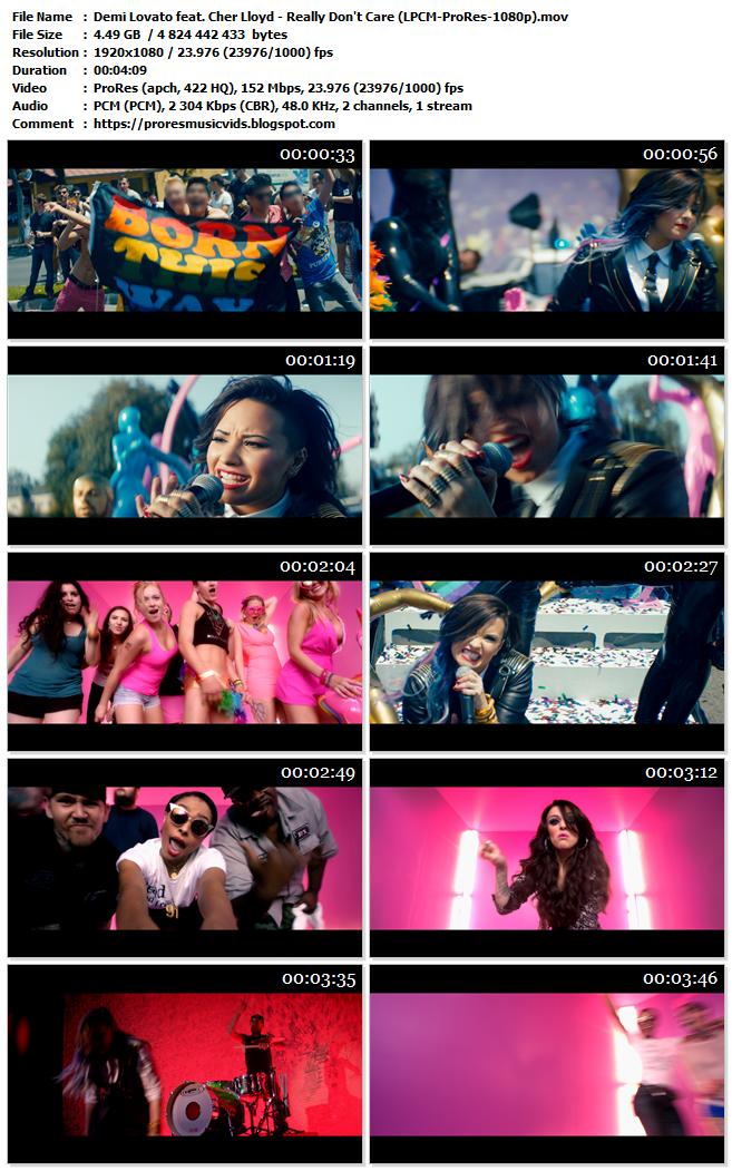 Demi Lovato feat. Cher Lloyd – Really Don't Care
