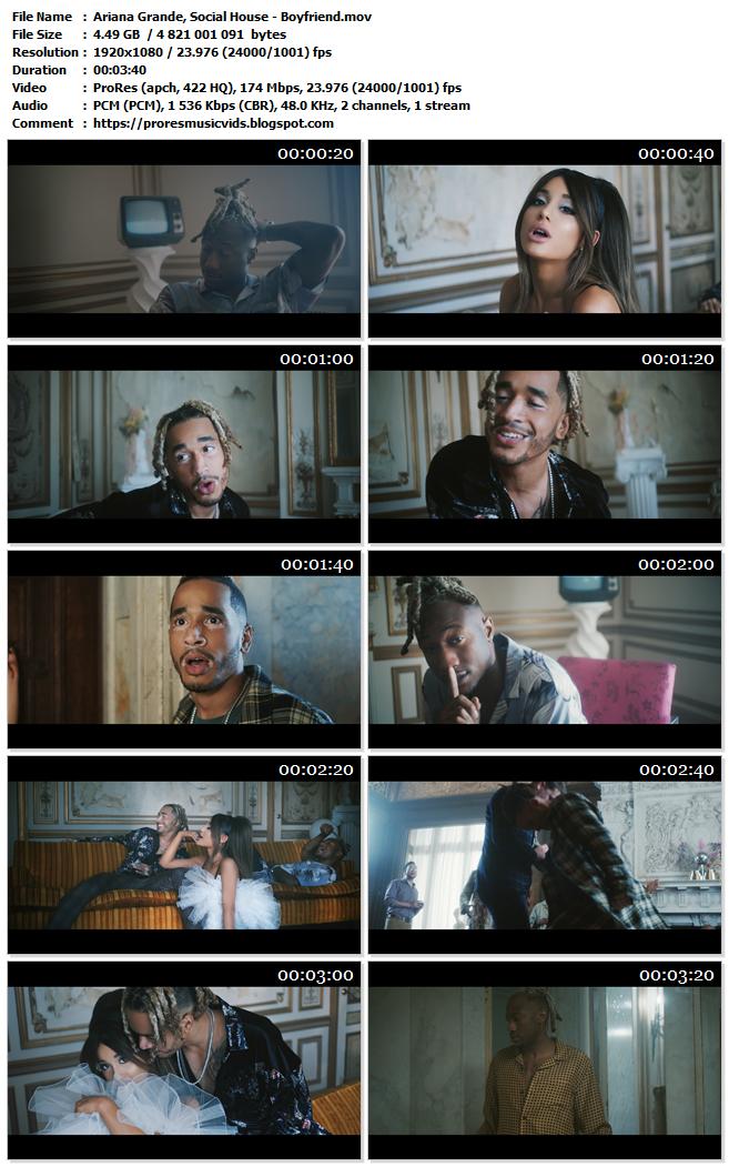 Ariana Grande, Social House – Boyfriend