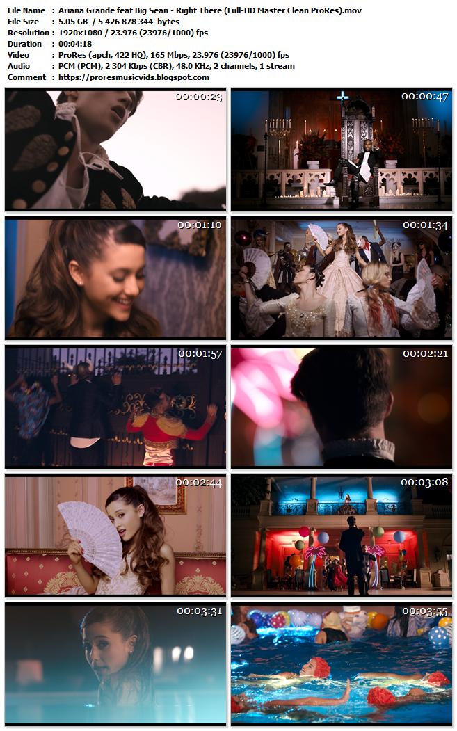Ariana Grande feat Big Sean – Right There