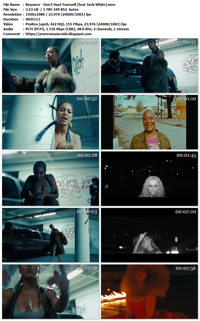 Beyonce – Don't Hurt Yourself (feat Jack White)