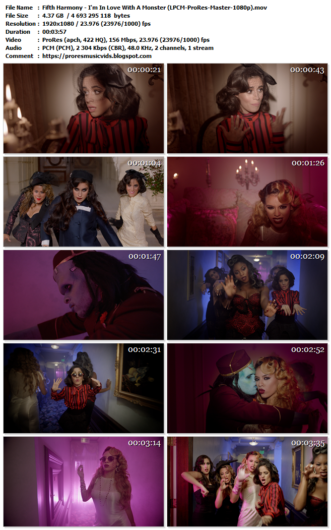 Fifth Harmony – I'm In Love With A Monster