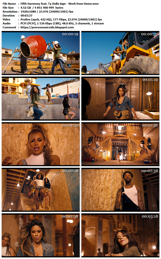 Fifth Harmony feat. Ty Dolla $ign – Work from Home