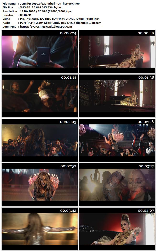 Jennifer Lopez feat Pitbull – On The Floor