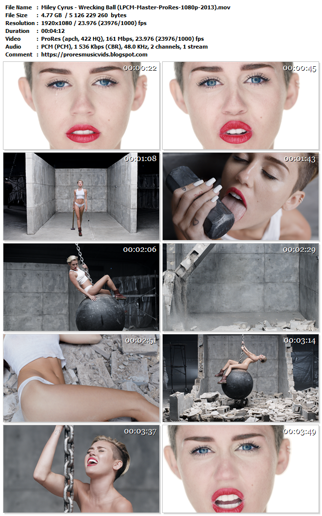 Miley Cyrus – Wrecking Ball