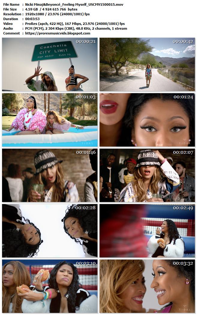 Nicki Minaj & Beyoncé – Feeling Myself