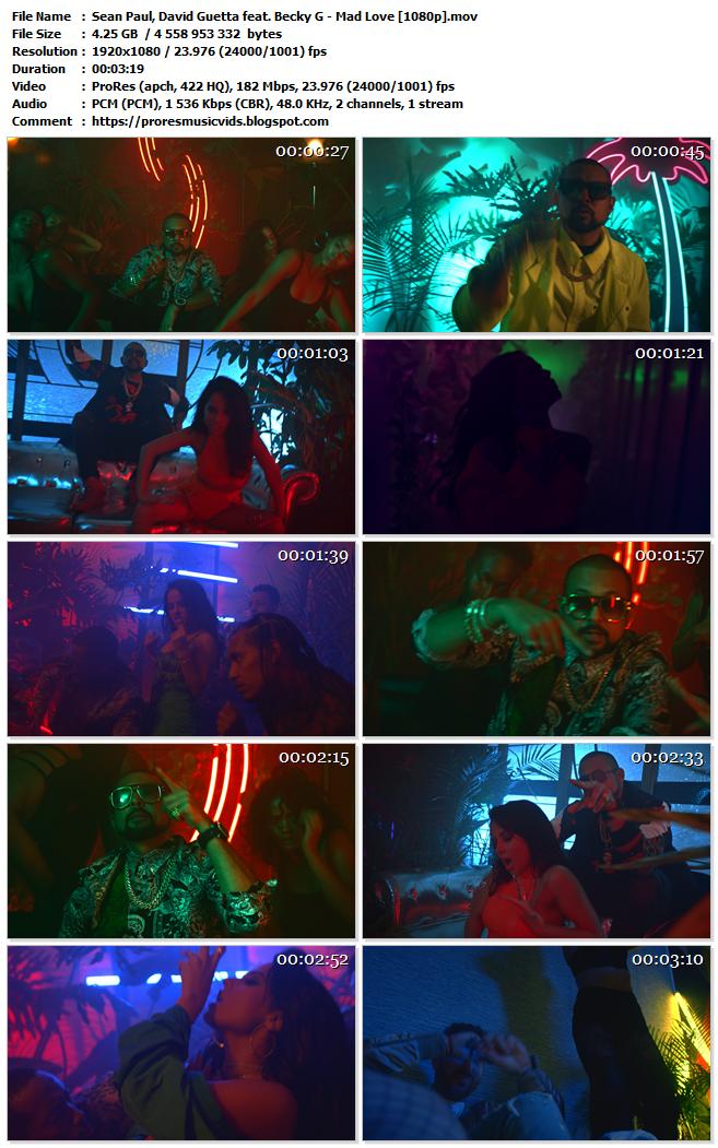 Sean Paul & David Guetta feat. Becky G – Mad Love