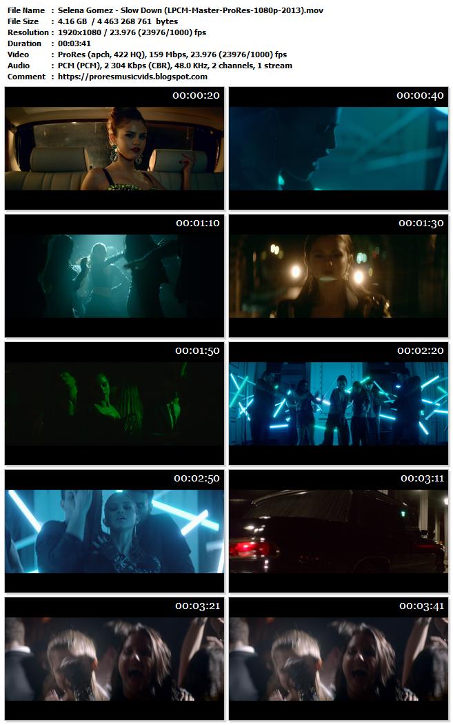 Selena Gomez – Slow Down