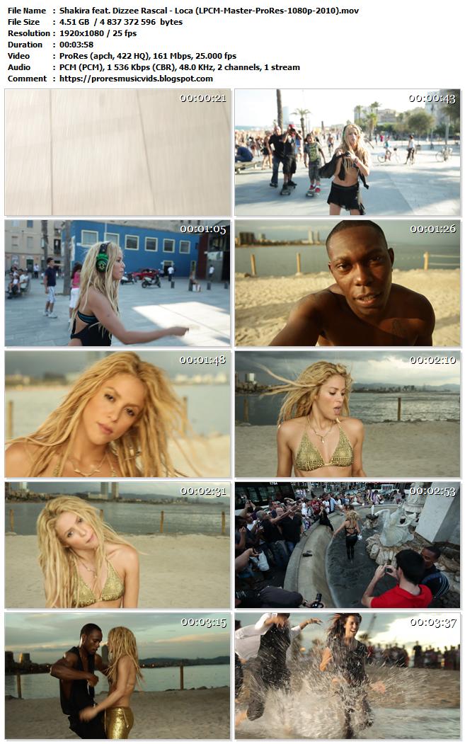 Shakira feat. Dizzee Rascal – Loca