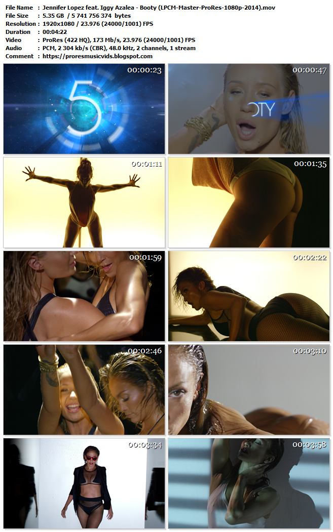 Jennifer Lopez feat. Iggy Azalea – Booty